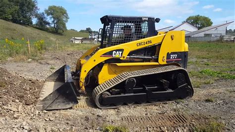 caterpillar abu abu caterpillar 277 rubber track skid steer loader for sale