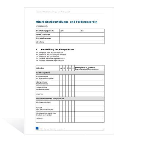 muster mitarbeiterbeurteilung kundenbefragung fragebogen