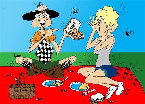 cartoon picnic   clip art  clip art
