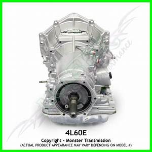 4l60e Transmission Remanufactured 4x4 Heavy Duty 2pc Case 4wd