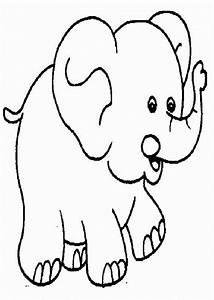Elefantes Para Colorear Dibujos Para Colorear