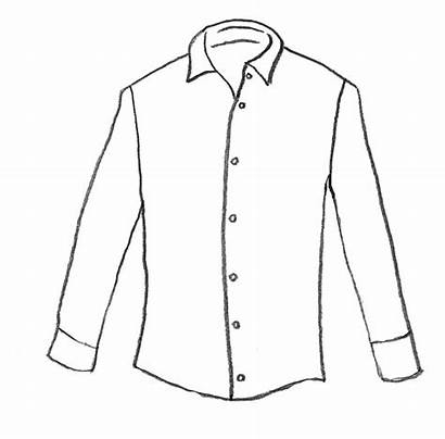 Shirt Outline Drawing Template Shirts Casual Radio