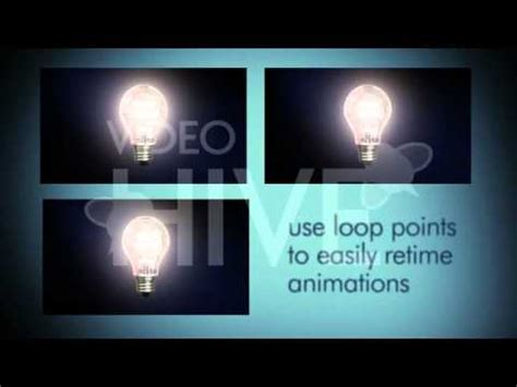 After Effects Template Light Bulb