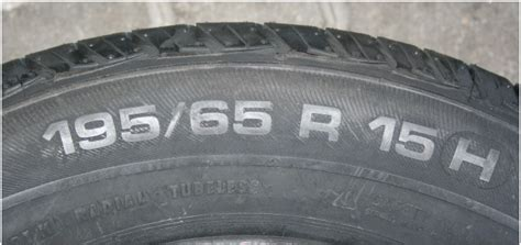 Tyre Age And Other Tyre Markings » Oponeo.co.uk