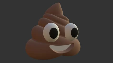 poop emoji    model  dimension