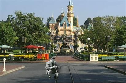 Castle Disney Sleeping Beauty Street Main Disneyland