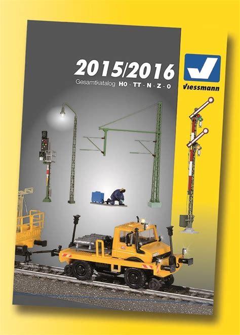 Viessmann 89997 Hauptkatalog 20152016 Deutsche Ausgabe