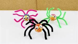 Bastelideen Für Halloween : lolli spinnen f r halloween deko geschenk idee basteln mit kindern lustige party idee ~ Whattoseeinmadrid.com Haus und Dekorationen