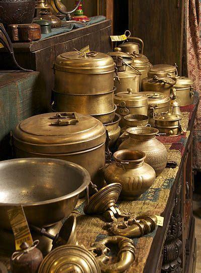 maiwa east brass  copper coffee decor kitchen indian kitchen utensils vintage kitchen