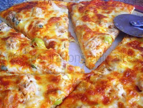pâte à pizza maison le cuisine de samar