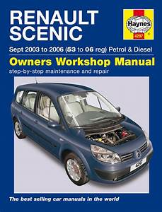 Haynes Workshop Repair Manual Renault Scenic 03
