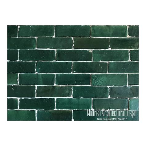 kitchen design green moroccan subway tiles green bejmat