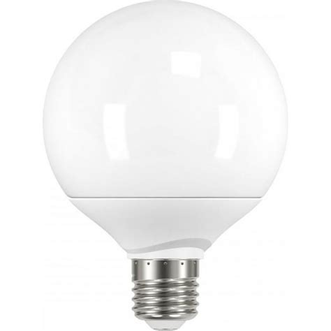 led large decor globe shaped es light bulb 9 watt in warm