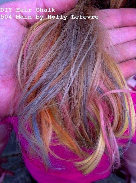 25 Best Ideas About Hair Chalk On Pinterest Homemade