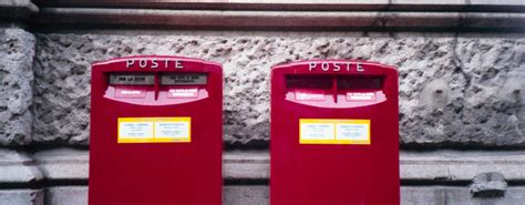 cassetta postale poste italiane poste italiane seleziona portalettere brescia giovani