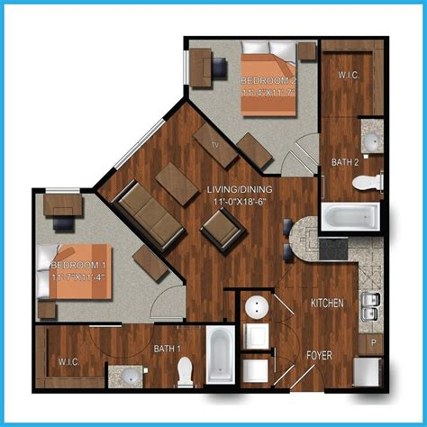 One Bedroom Apartments College Station by 9 Best College Station Apartment Floorplans Images On