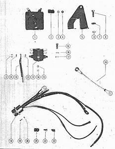 Mercury Mark  U0026 Kiekhaefer Mark 55  55e Rectifier  Starter Solenoid  U0026 Wiring Harness Parts