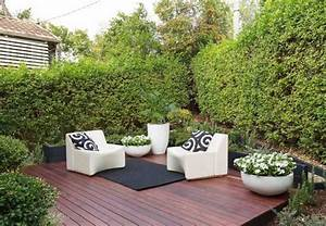 amenagement petit jardin en 55 photos fascinantes With idee amenagement jardin de ville 4 patio et petit jardin moderne des idees de design d
