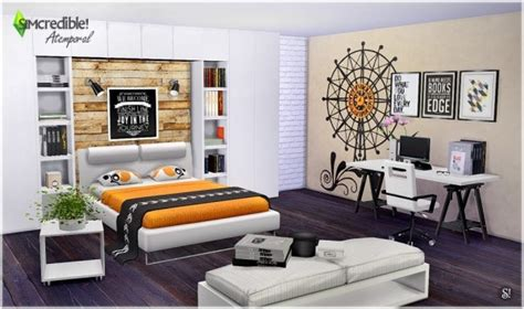 simcredible designs atemporal bedroom sims  downloads