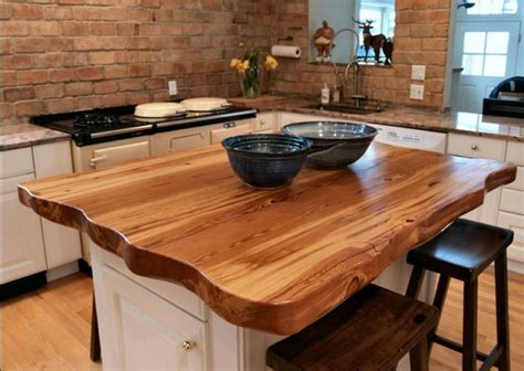 kitchen island wood countertop butcher block dining table design ideas home interiors 5235