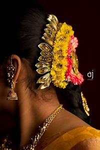 Traditional South Indian bride's bridal hairstyle | South ...