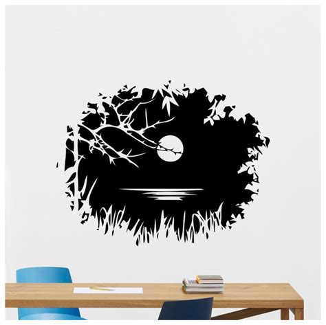 Wall Mural Decals Nature by Popular Lake Decal Buy Cheap Lake Decal Lots