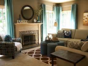 teal and taupe living room contemporary living room