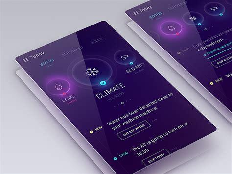 quantum app design mobile app design smart home