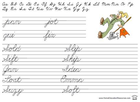 Free Printable Cursive Handwriting Practice Sheets  Printable 360 Degree