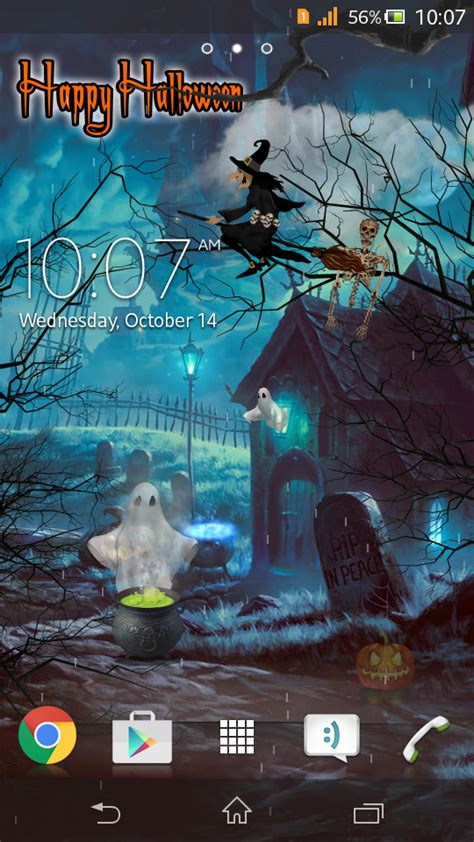 [free] Halloween Live Wallpaper  Android Development And