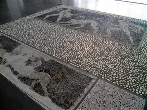 flooring quarter file pebble mosaic floor from the quot house of dionysos quot at