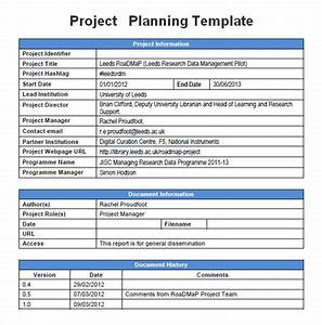 project planning template 5 free download for word With document management system project plan