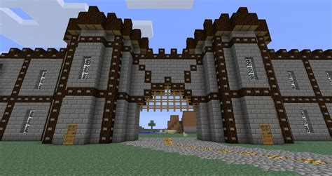 Medival Wall Minecraft Project