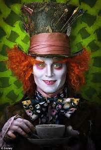 Johnny Depp As Mad Hatter, Helena Bonham Carter's Red