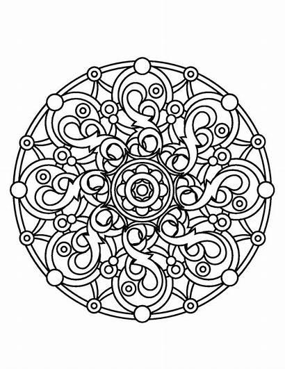 Coloring Mandala Mandalas Magical Adults Books Sheets