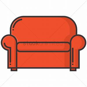 vector drawing on the sofa stock vector art istock sofa With sectional sofa vector