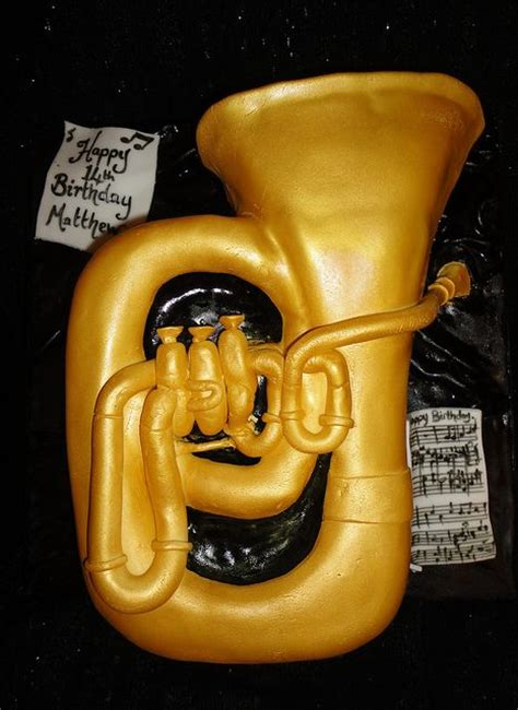 tuba cake cakepinscom cake ideas pinterest birthday