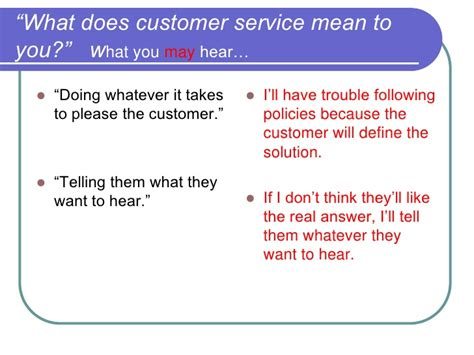 What Does Customer Service To You Answer by Interviewing For Customer Service A Working Session