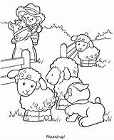 Farmer Coloring Pages sketch template
