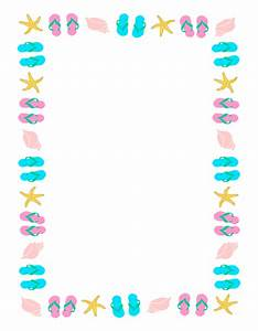 Summer Page Border Clipart | Clipart Panda - Free Clipart ...