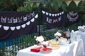 i like the sign and the pictures mybridalshower With couples wedding shower decoration ideas