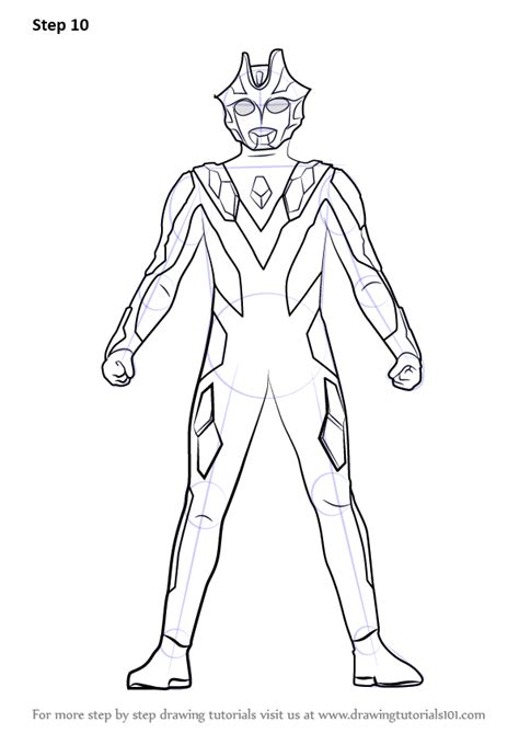 learn   draw ultraman xenon ultraman step  step