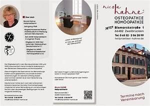 Osteopathie Abrechnung : flyer osteopathie und hom opathie in zweibr cken ~ Themetempest.com Abrechnung
