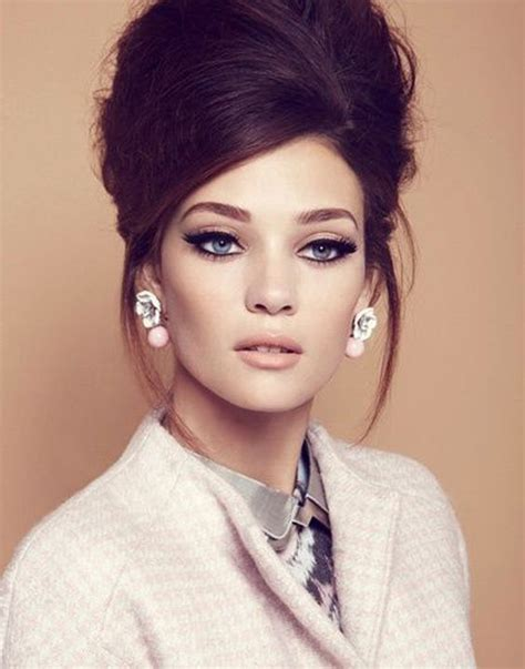 60s Wedding Hairstyles by We This 60 S Inspired Hair Makeup Whites