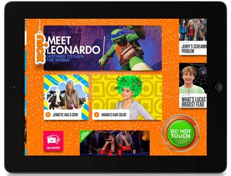 nickelodeon hopes  app wins hearts   york times