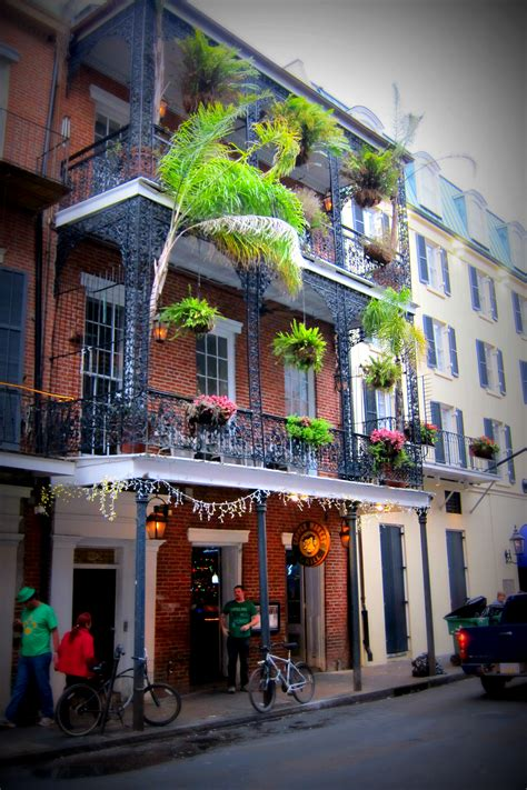 New Orleans by Buildings Of The Quarter In New Orleans With