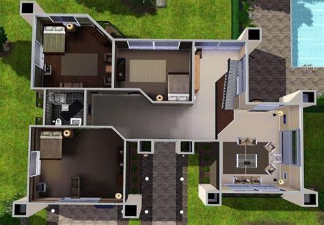 sims  house floor plans ideas house plans