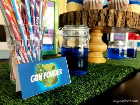 fortnite party ideas   printables birthday party