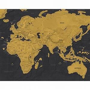 Carte Du Monde à Gratter Maison Du Monde : carte du monde gratter scratch map version luxe de l 39 atelier chez soi ~ Teatrodelosmanantiales.com Idées de Décoration