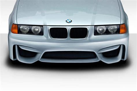 duraflex m3 e36 m4 look front bumper kit 1 pc for bmw 3 series 92 ebay